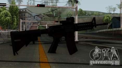 AR-15 Elcan для GTA San Andreas второй скриншот