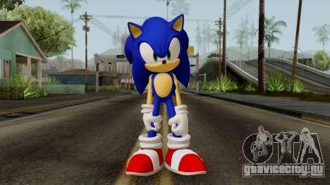 Sonic the Hedgehog HD для GTA San Andreas второй скриншот