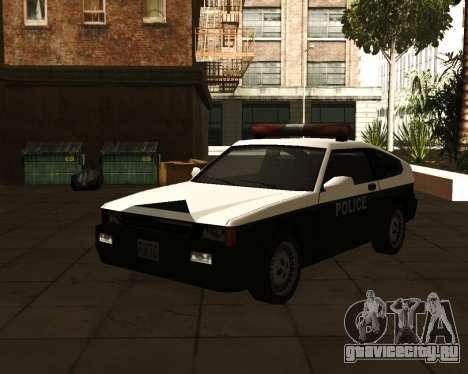 Japanese Police Car Blista для GTA San Andreas