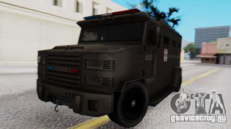 GTA 5 Enforcer Raccoon City Police Type 1 для GTA San Andreas