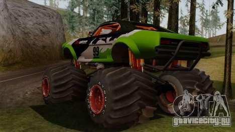 GTA 5 Vapid Big Foot для GTA San Andreas вид слева