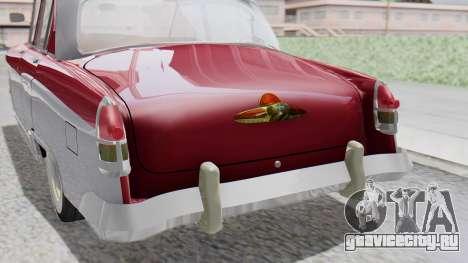 ГАЗ 21 Волга v2 для GTA San Andreas вид сзади