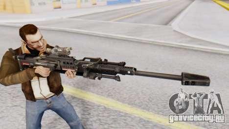 Sniper Rifle 8x Scope для GTA San Andreas третий скриншот