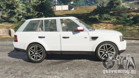 Range Rover Sport 2010 v0.7 [Beta] для GTA 5 вид слева