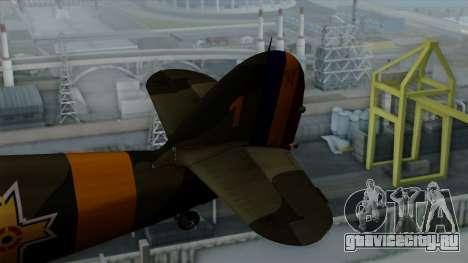 Hawker Hurricane Mk1 - Romania Nr. 1 для GTA San Andreas вид сзади слева