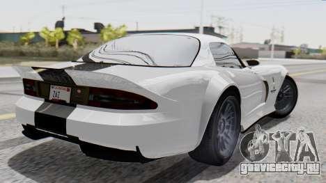 GTA 5 Banshee для GTA San Andreas вид слева