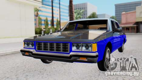 Chevrolet Caprice 1980 SA Style Civil для GTA San Andreas