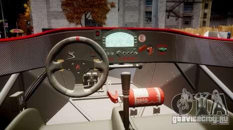 Radical SR8 RX 2011 [27] для GTA 4 вид сзади