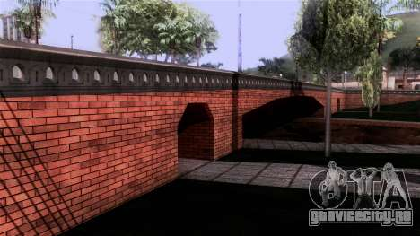 New Glen Park для GTA San Andreas второй скриншот