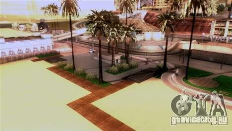 Новый пляж в Лос Сантосе для GTA San Andreas третий скриншот