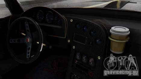 GTA 5 Banshee для GTA San Andreas вид сзади