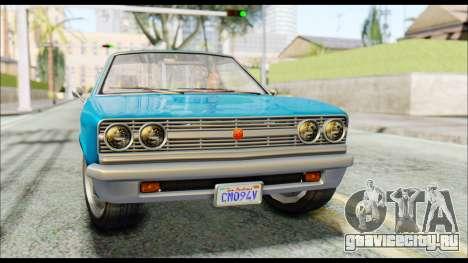GTA 5 Cheval Picador IVF для GTA San Andreas вид справа