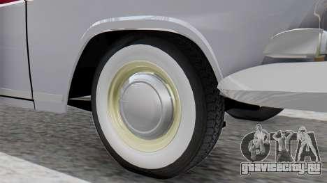 ГАЗ 21 Волга v2 для GTA San Andreas вид сзади слева