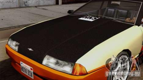 Винил для Elegy - Samurai Drifting для GTA San Andreas вид сзади