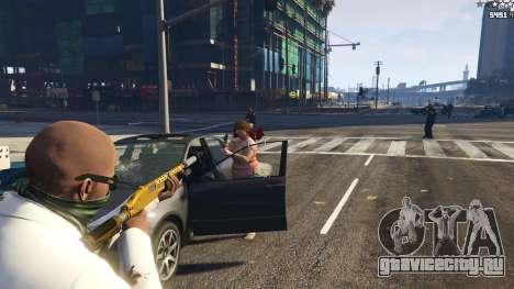 Strapped Peds для GTA 5 шестой скриншот