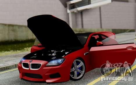 BMW M6 2013 v1.0 для GTA San Andreas салон