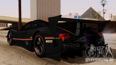 Pagani Zonda Revolucion 2015 для GTA San Andreas вид слева