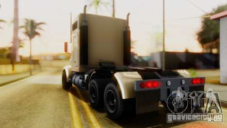 GTA 5 MTL Packer Trainer IVF для GTA San Andreas вид слева