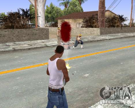 Blood Effects для GTA San Andreas третий скриншот