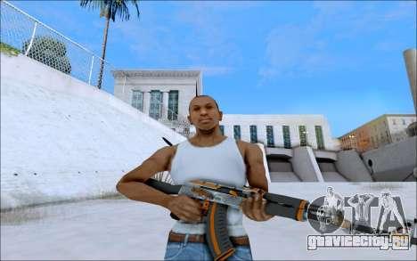 AK-47 Carbone Edition для GTA San Andreas второй скриншот