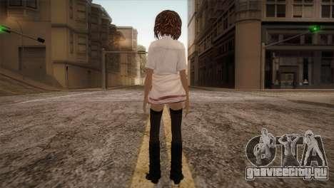 Rasta School Girl для GTA San Andreas третий скриншот