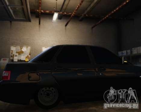 ВАЗ 2110 для GTA 4 вид сзади