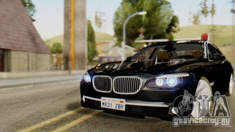 BMW 750Li 2012 для GTA San Andreas