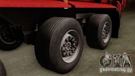 Krampe SB3060 для GTA San Andreas вид сзади слева