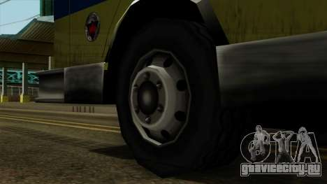 SAFD SAX Airport Engine для GTA San Andreas вид сзади слева