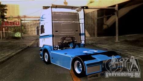 Scania R730 для GTA San Andreas вид слева
