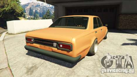 Nissan Skyline 2000 GT-R 1970 v0.1 [Beta] для GTA 5