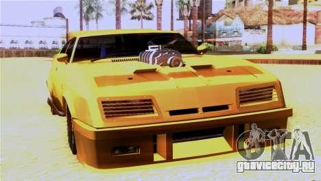 Ford Falcon XB Interceptor Mad Max для GTA San Andreas