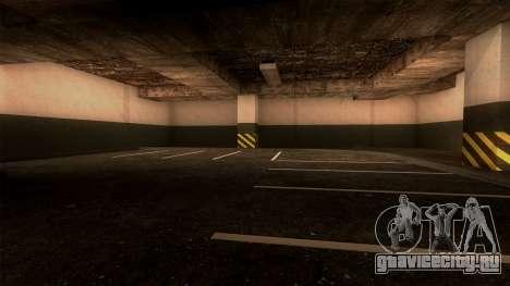 Новая парковка LSPD для GTA San Andreas пятый скриншот