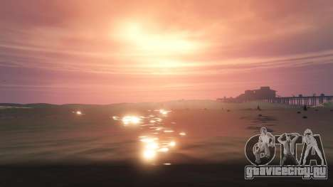 Большие волны v1.1 для GTA 5 пятый скриншот