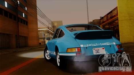 Porsche 911 Carrera RS 2.7 Sport (911) 1972 HQLM для GTA San Andreas вид справа