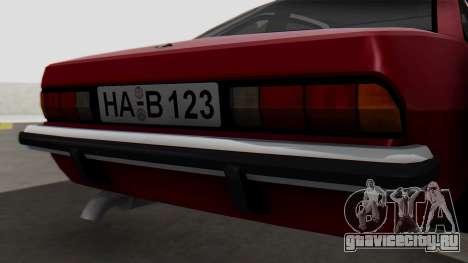 Opel Manta B1 для GTA San Andreas вид сзади