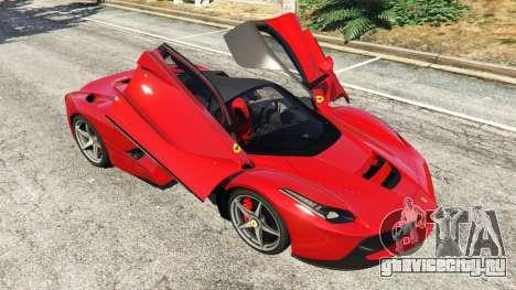 Ferrari LaFerrari 2015 v0.5 для GTA 5 колесо и покрышка