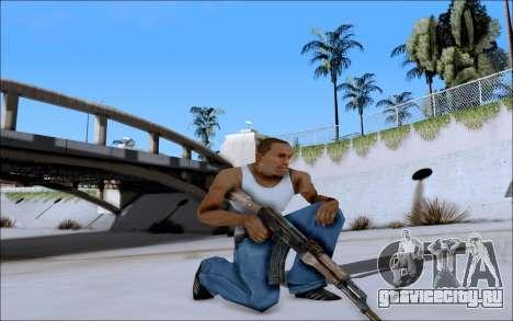 AK-47 Soviet для GTA San Andreas третий скриншот