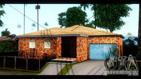 Новые текстуры домов по всему Гроув Стрит для GTA San Andreas второй скриншот