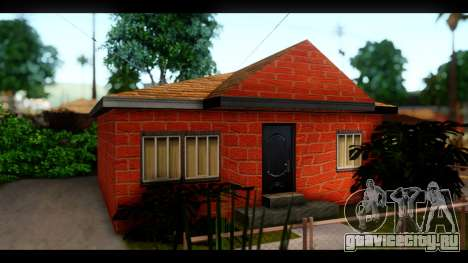 Новые текстуры домов по всему Гроув Стрит для GTA San Andreas четвёртый скриншот