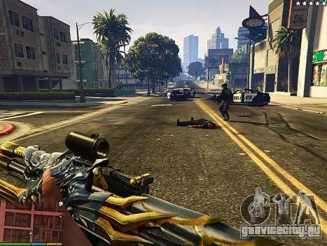 АК-47 Зверь для GTA 5 второй скриншот
