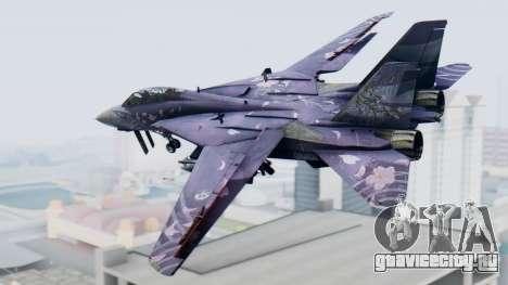 F-14D Zipang для GTA San Andreas вид слева