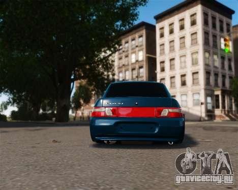 ВАЗ 2110 для GTA 4 вид справа