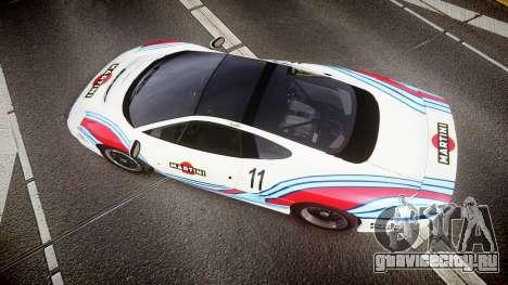 Jaguar XJ220 1992 [EPM] Martini для GTA 4 вид справа
