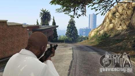 Battlefield 4 AK-12 для GTA 5 второй скриншот