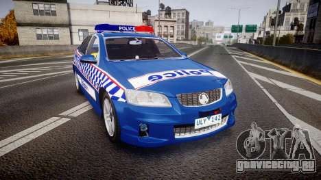 Holden VE Commodore SS Highway Patrol [ELS] v2.0 для GTA 4