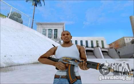 AK-47 Carbone Edition для GTA San Andreas