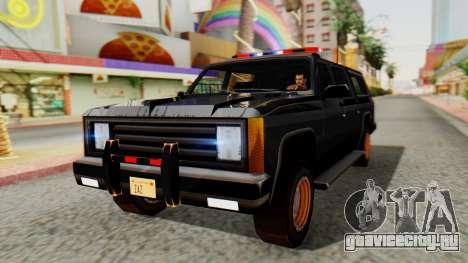 FBI Rancher with Lightbars для GTA San Andreas