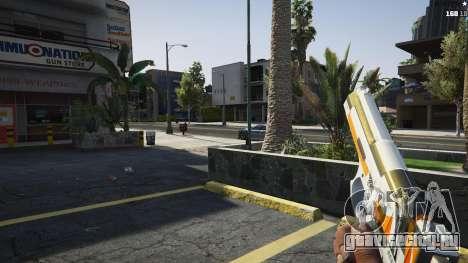 Asiimov Pistol.50 для GTA 5 четвертый скриншот