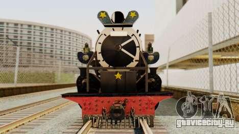 CC5019 Indonesian Steam Locomotive v1.0 для GTA San Andreas вид сзади слева